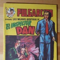 Tebeos: PULGARCITO LAS MEJORES AVENTURAS DE EL INSPECTOR DAN SERIE MAGOS DEL LAPIZ EUGENIO GINER-REEDICION. Lote 150179794