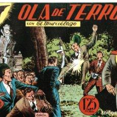 Tebeos: EL MURCIÉLAGO NÚM.4. OLA DE TERROR. Lote 150519642