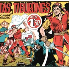 Tebeos: PIRATAS Y TIBURONES CON KING CARIBE EL GRAN CORSARIO, NÚM.2. Lote 150520310