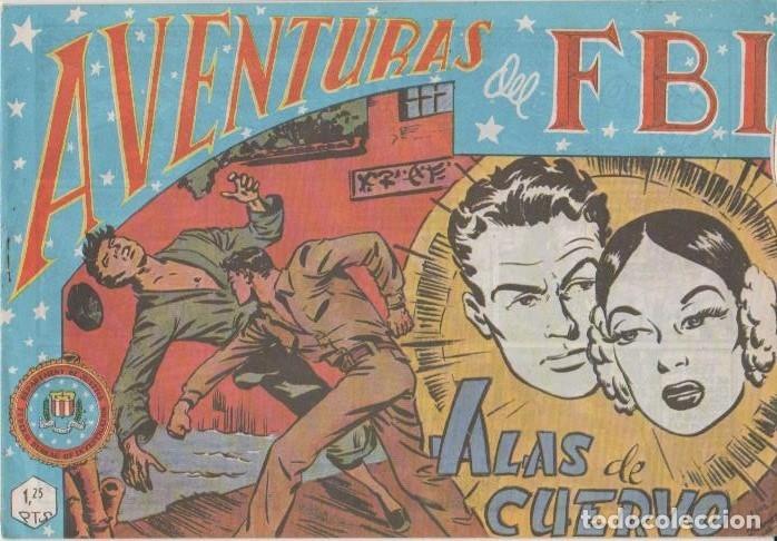 Tebeos: AVENTURAS DEL F.B.I. REEDICIONES FACSIMILARES CUADERNILLOS LOTE - Foto 16 - 29562304