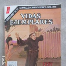 Tebeos: VIDAS EJEMPLARES Nº 199 (FRAY JUNIPERO SERRA). Lote 154955310