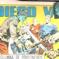 Tebeos: DIEGO VALOR 6: LA COLUMNA DE PRISIONEROS. REEDICIÓN 1986. Lote 156725702