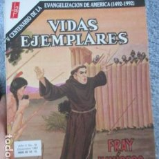 Tebeos: VIDAS EJEMPLARES Nº 199 (FRAY JUNIPERO SERRA). Lote 157742754