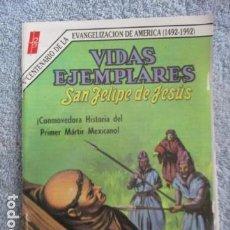 Tebeos: VIDAS EJEMPLARES Nº 297. SAN FELIPE DE JESUS. Lote 157744902