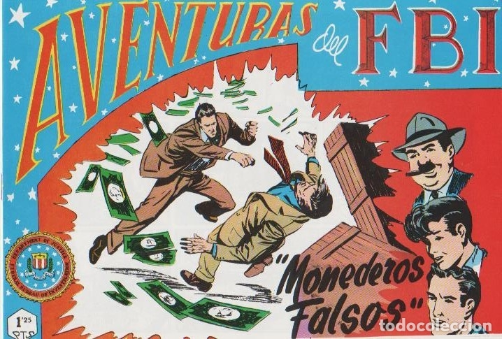 Tebeos: AVENTURAS DEL F.B.I. REEDICIONES FACSIMILARES CUADERNILLOS LOTE - Foto 18 - 29562304