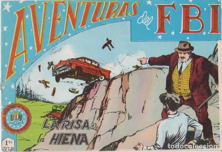 Tebeos: AVENTURAS DEL F.B.I. REEDICIONES FACSIMILARES CUADERNILLOS LOTE - Foto 20 - 29562304