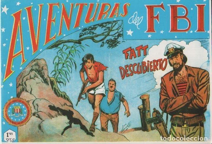 Tebeos: AVENTURAS DEL F.B.I. REEDICIONES FACSIMILARES CUADERNILLOS LOTE - Foto 23 - 29562304