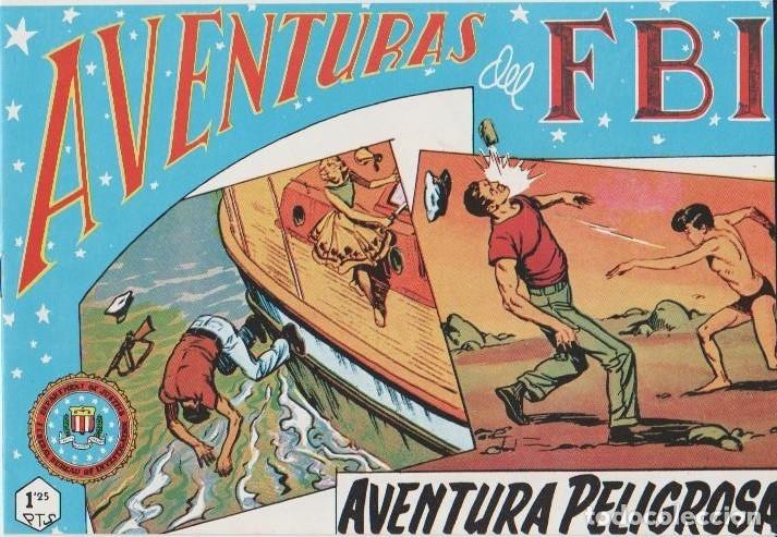 Tebeos: AVENTURAS DEL F.B.I. REEDICIONES FACSIMILARES CUADERNILLOS LOTE - Foto 24 - 29562304