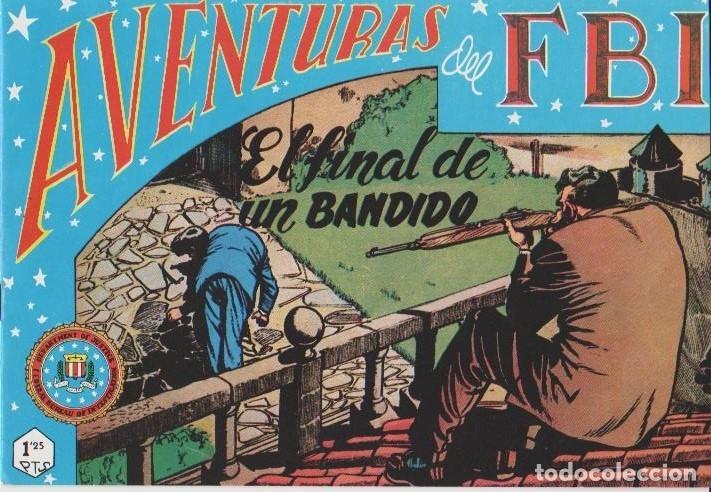 Tebeos: AVENTURAS DEL F.B.I. REEDICIONES FACSIMILARES CUADERNILLOS LOTE - Foto 25 - 29562304