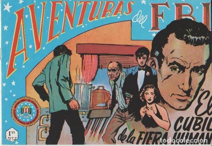 Tebeos: AVENTURAS DEL F.B.I. REEDICIONES FACSIMILARES CUADERNILLOS LOTE - Foto 27 - 29562304