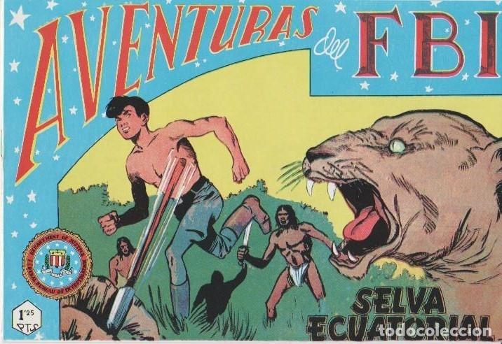 Tebeos: AVENTURAS DEL F.B.I. REEDICIONES FACSIMILARES CUADERNILLOS LOTE - Foto 30 - 29562304