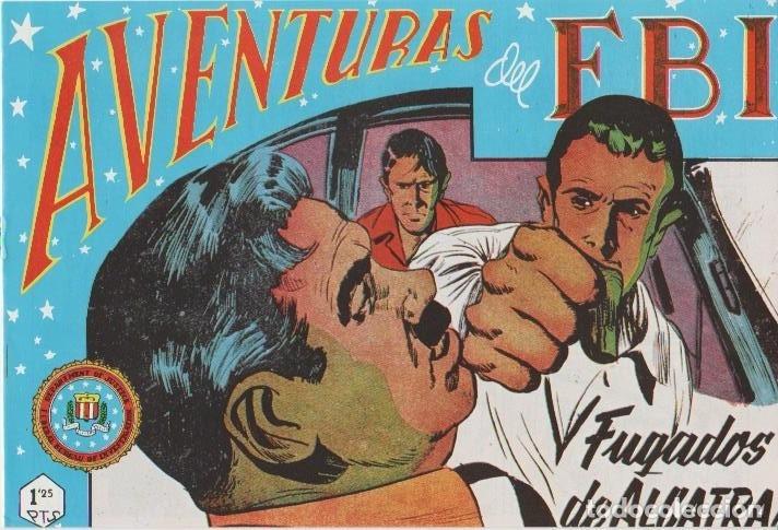 Tebeos: AVENTURAS DEL F.B.I. REEDICIONES FACSIMILARES CUADERNILLOS LOTE - Foto 31 - 29562304