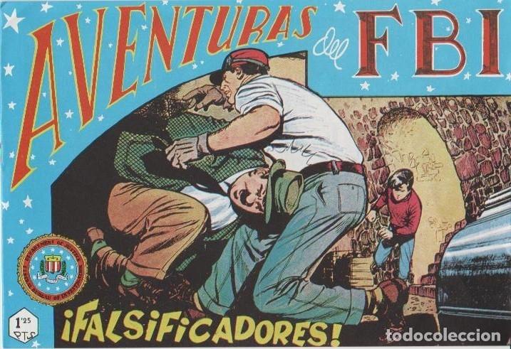 Tebeos: AVENTURAS DEL F.B.I. REEDICIONES FACSIMILARES CUADERNILLOS LOTE - Foto 34 - 29562304