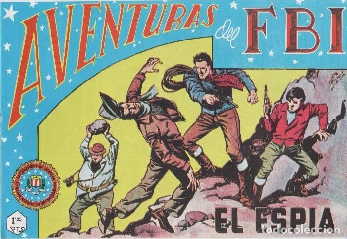 Tebeos: AVENTURAS DEL F.B.I. REEDICIONES FACSIMILARES CUADERNILLOS LOTE - Foto 33 - 29562304