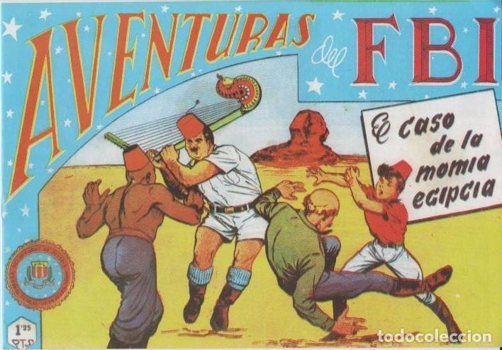 Tebeos: AVENTURAS DEL F.B.I. REEDICIONES FACSIMILARES CUADERNILLOS LOTE - Foto 41 - 29562304