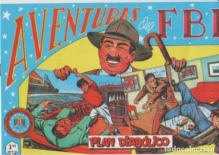 Tebeos: AVENTURAS DEL F.B.I. REEDICIONES FACSIMILARES CUADERNILLOS LOTE - Foto 45 - 29562304