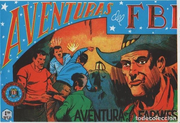 Tebeos: AVENTURAS DEL F.B.I. REEDICIONES FACSIMILARES CUADERNILLOS LOTE - Foto 46 - 29562304