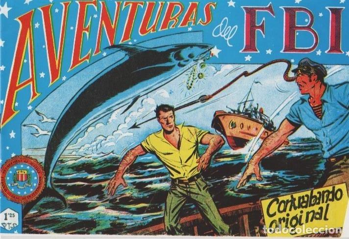 Tebeos: AVENTURAS DEL F.B.I. REEDICIONES FACSIMILARES CUADERNILLOS LOTE - Foto 49 - 29562304