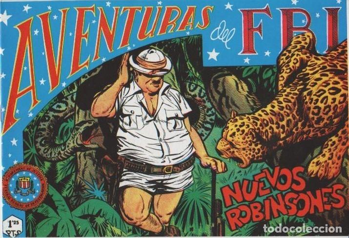 Tebeos: AVENTURAS DEL F.B.I. REEDICIONES FACSIMILARES CUADERNILLOS LOTE - Foto 50 - 29562304