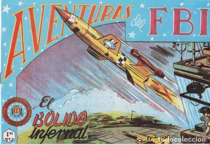Tebeos: AVENTURAS DEL F.B.I. REEDICIONES FACSIMILARES CUADERNILLOS LOTE - Foto 53 - 29562304