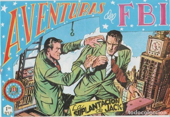 Tebeos: AVENTURAS DEL F.B.I. REEDICIONES FACSIMILARES CUADERNILLOS LOTE - Foto 55 - 29562304