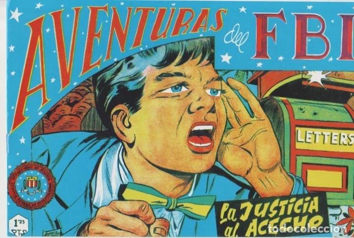 Tebeos: AVENTURAS DEL F.B.I. REEDICIONES FACSIMILARES CUADERNILLOS LOTE - Foto 59 - 29562304