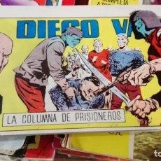 Tebeos: DIEGO VALOR. Nº 6. LA COLUMNA DE PRISIONEROS. REEDICION. IBERCOMIC-MAN, 1986. Lote 164062866