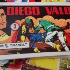 Tebeos: DIEGO VALOR TOMO Nº 3 EDITA IBERCOMIC-MAN AÑO 1986. Lote 164063202