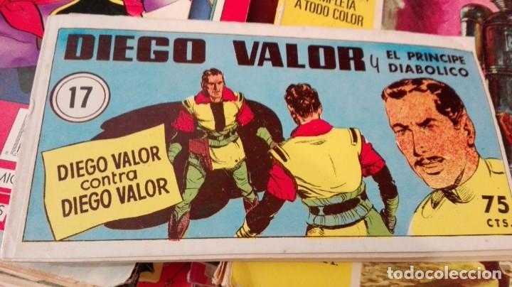 DIEGO VALOR. Nº 17. DIEGO VALOR CONTRA DIEGO VALOR. REEDICION. IBERCOMIC-MAN (Tebeos y Comics - Tebeos Reediciones)