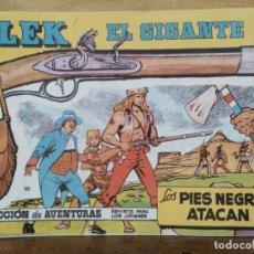 Giornalini: BLEK, EL GIGANTE - Nº 102, LOS PIES NEGROS ATACAN. Lote 164802130