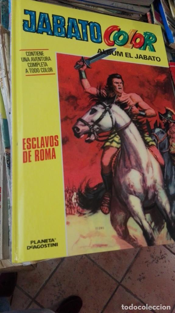 COMIC EL JABATO COLOR. ESCLAVOS DE ROMA-ALBUM EL JABATO TAPA DURA (Tebeos y Comics - Tebeos Reediciones)