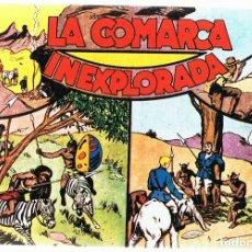 Tebeos: AVENTURAS DE JORGE Y FERNANDO LA COMARCA INEXPLORADA ALBUM Nº 5 . Lote 165607998