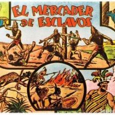 Tebeos: AVENTURAS DE JORGE Y FERNANDO EL MERCADER DE ESCLAVOS ALBUM Nº 2. Lote 165609062