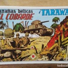 Giornalini: HAZAÑAS BÉLICAS - Nº 2, EL COBARDE - ¡TARAWA!. Lote 165609318