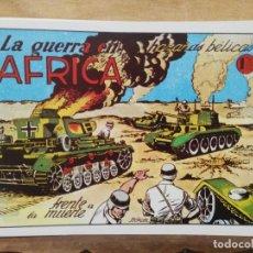 Giornalini: HAZAÑAS BÉLICAS - Nº 3, LA GUERRA EN ÁFRICA. Lote 165609446