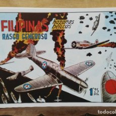 Giornalini: HAZAÑAS BÉLICAS - Nº 5, RASGO GENEROSO - FILIPINAS. Lote 165609786