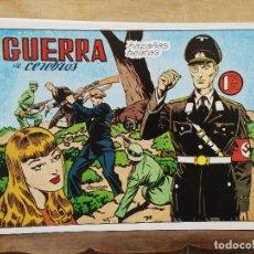 Giornalini: HAZAÑAS BÉLICAS - Nº 9, GUERRA DE CEREBROS. Lote 165610514