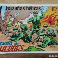 Giornalini: HAZAÑAS BÉLICAS - Nº 12, CUNA DE HÉROES. Lote 165611378