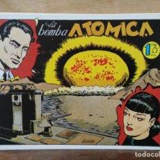 Giornalini: HAZAÑAS BÉLICAS - Nº 14, LA BOMBA ATÓMICA. Lote 165611750