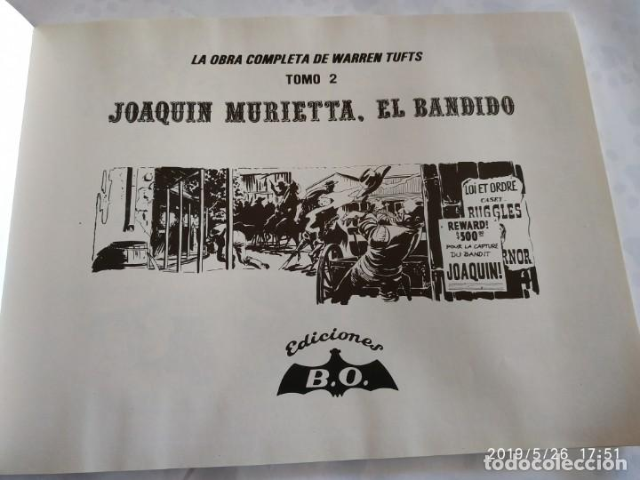 Tebeos: Comic Warren Tufts Tomo 2, una saga del Oeste Casey Ruggled Joaquín Murietta el Bandido - Foto 4 - 165857310