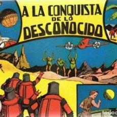 Giornalini: A LA CONQUISTA DE LO DESCONOCIDO . Lote 165978806