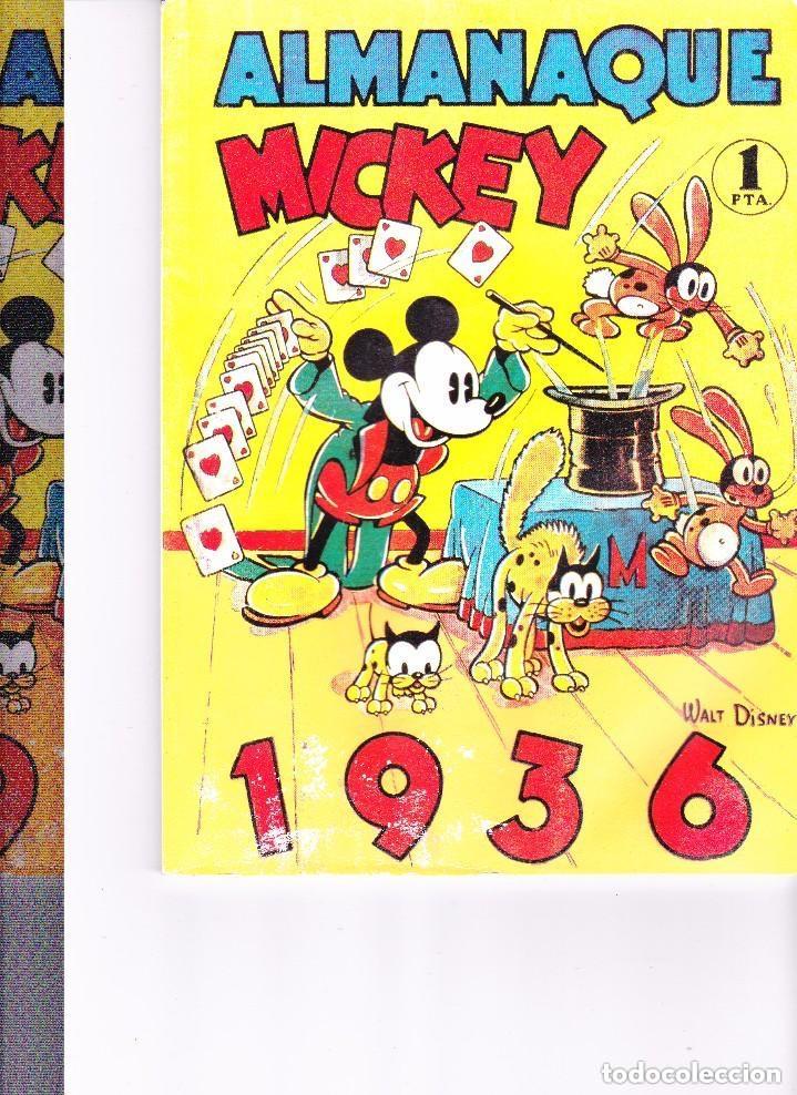 ALMANAQUE MICKEY 1936 - REEDICION (Tebeos y Comics - Tebeos Reediciones)