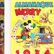 Tebeos: ALMANAQUE MICKEY 1936 - REEDICION. Lote 165993186