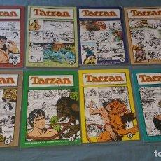 Tebeos: 8 TOMOS TARZAN TIRAS DOMINICALES FOSTER HOGARTH COMPLETA ESTEVE. Lote 166969200