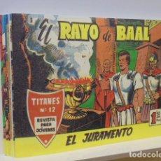 Tebeos: EL RAYO DE BAAL COMPLETA 10 NUM. REEDICION. Lote 268803919