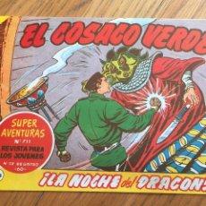 Tebeos: EL COSACO VERDE, REEDICION 144 NUMEROS. Lote 168418404