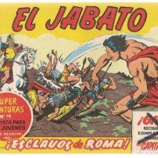 Tebeos: EL JABATO. Nº 1. ESCLAVOS DE ROMA. FACSIMIL, EDICIONES B. (ST/A5). Lote 168945648