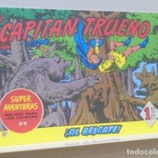 Tebeos: COLECCION SUPER AVENTURAS Nº 11 EL CAPITAN TRUENO Nº 63 - EDICIONES B - REEDICION. Lote 170859135