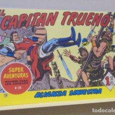 Tebeos: COLECCION SUPER AVENTURAS Nº 26 EL CAPITAN TRUENO Nº 73 - EDICIONES B - REEDICION. Lote 170860230