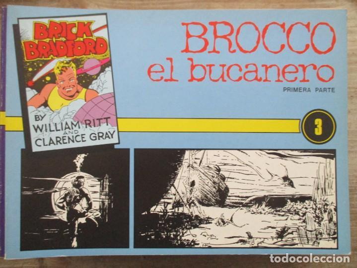 BRICK BRADFORD - N º 3 - WILLIAN RITT & CLARENCE GRAY -EDICIONE ESTEVE (Tebeos y Comics - Tebeos Reediciones)